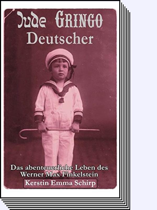 Kerstin E. Finkestein – Jude, Gringo, Deutscher, Buch