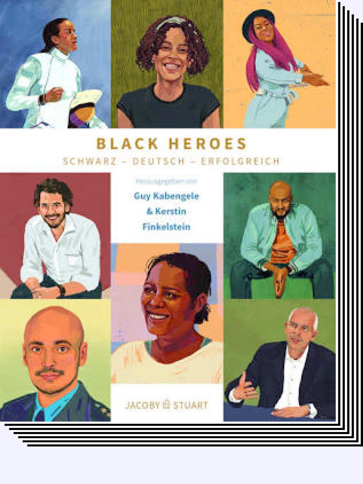 Kerstin E. Finkestein – Black Heroes, Buch
